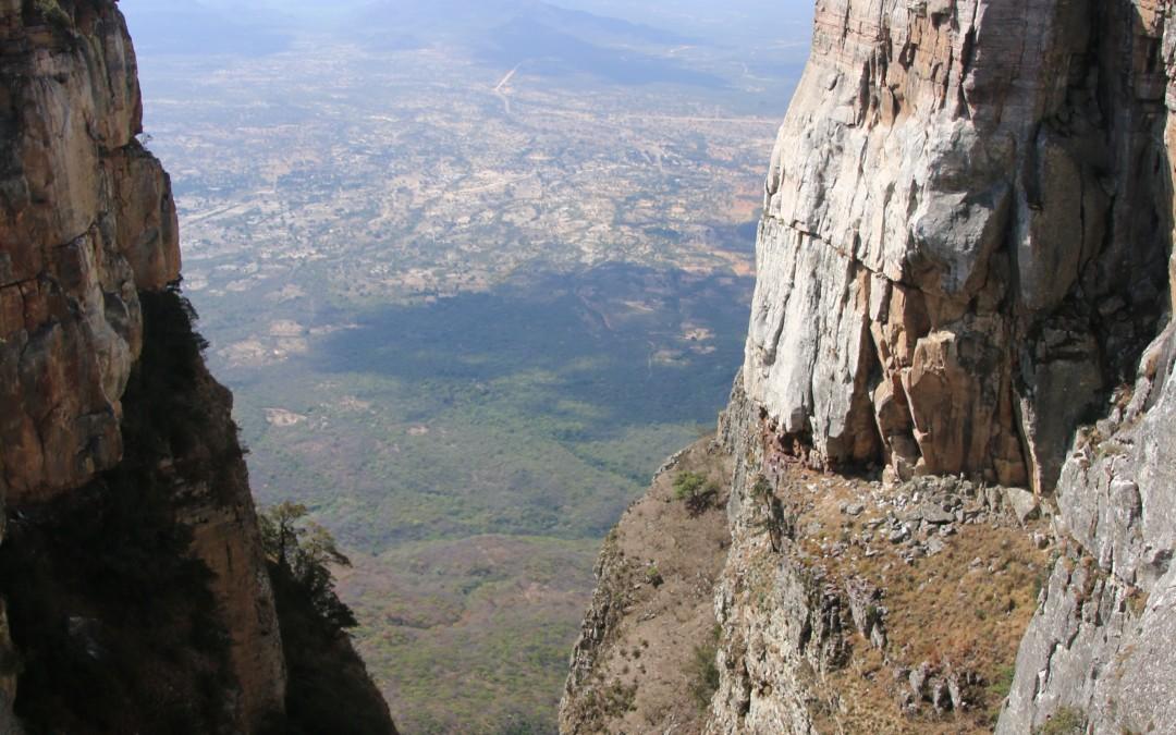 Angola  la faille de Tundavala