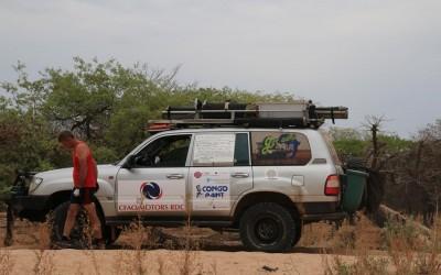 Angola  en route vers la frontière