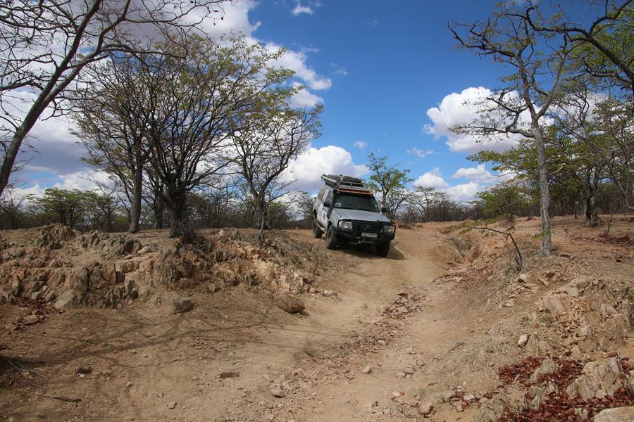 Namibie 6: Vers Van zyl's Pass