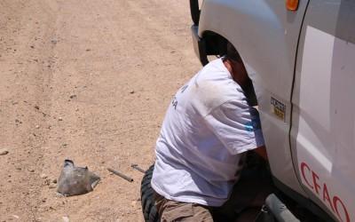 Namibie 13: Vers Swakopmund sans les freins arrière !