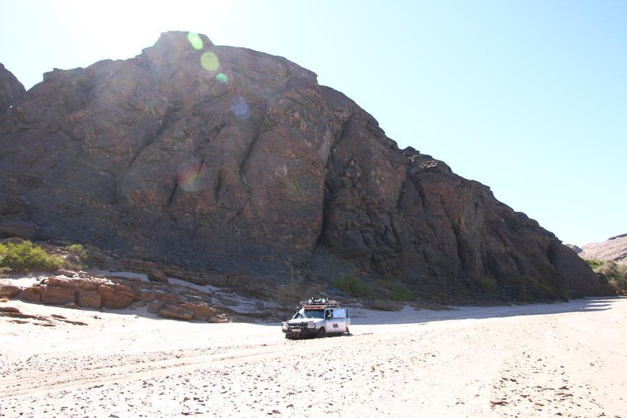 Namibie 14: Vers walvis Bay et le gros plantage dans le kuisseb canyon