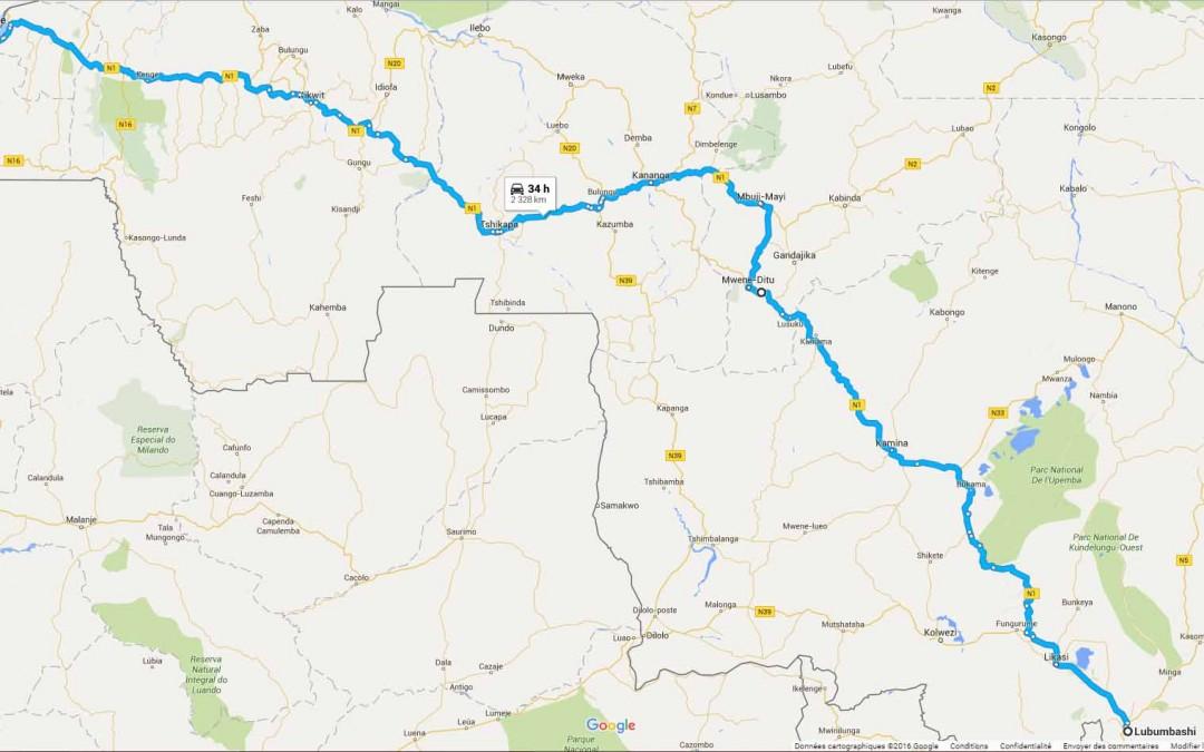 R D Congo Lubumbashi/ Kinshasa