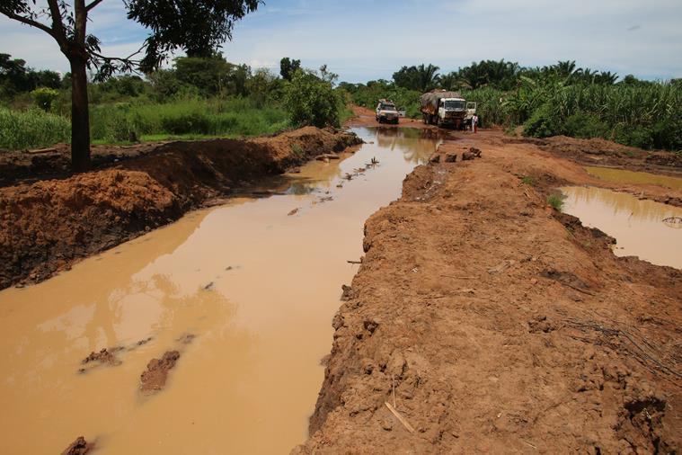 Traversée Lubumbashi/Kinshasa,  13 mars 2016, 2eme jour