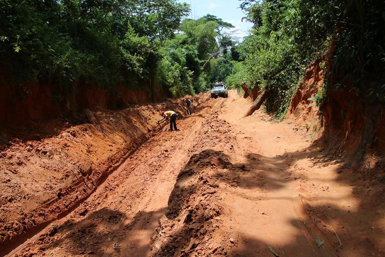 43: Traversée Lubumbashi Kinshasa, 22 mars 2016, 8ème jour