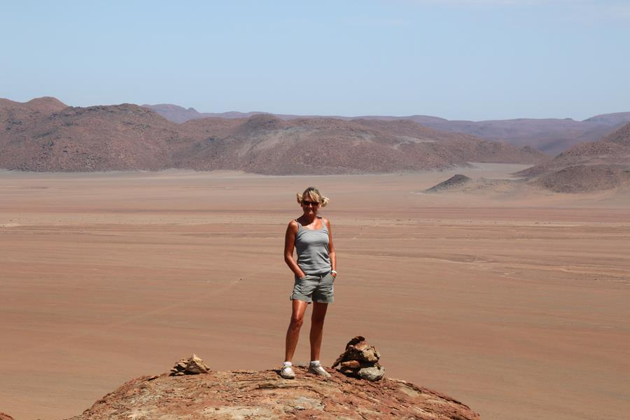 Namibie  Messum Crater et Henties Bay