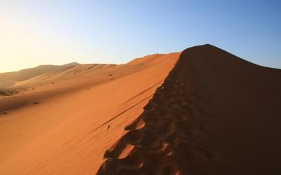 Namibie-les dunes de Sossusvlei