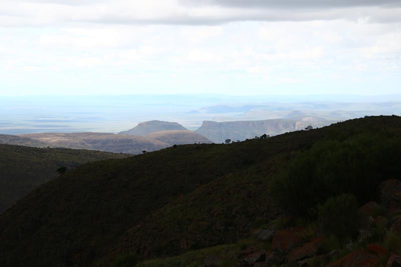 Afrique du sud vers Botswana