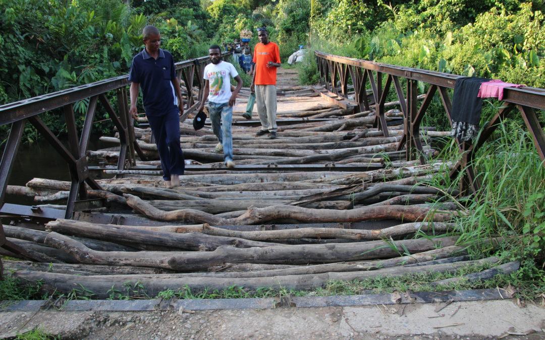 Traversée «off road» Lubumbashi /Kinshasa           R D CONGO